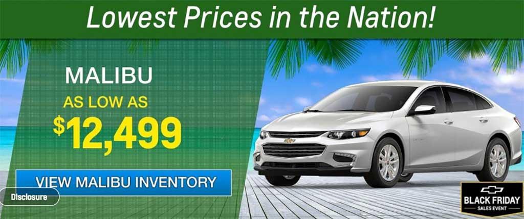 Bomnin Chevy Black Friday Deals Miamicars Com