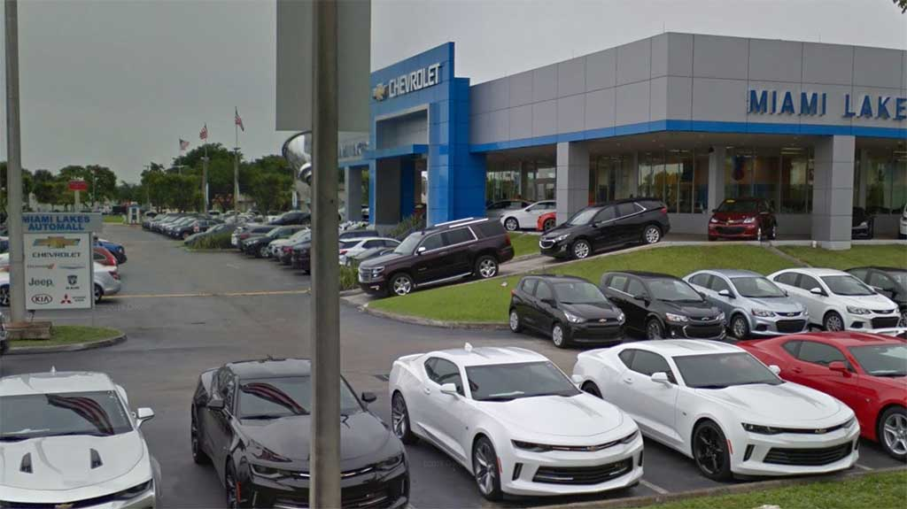 Chevy Dealer Miami >> Miami New Car Dealer Websites Ranked From Most Popular To Least