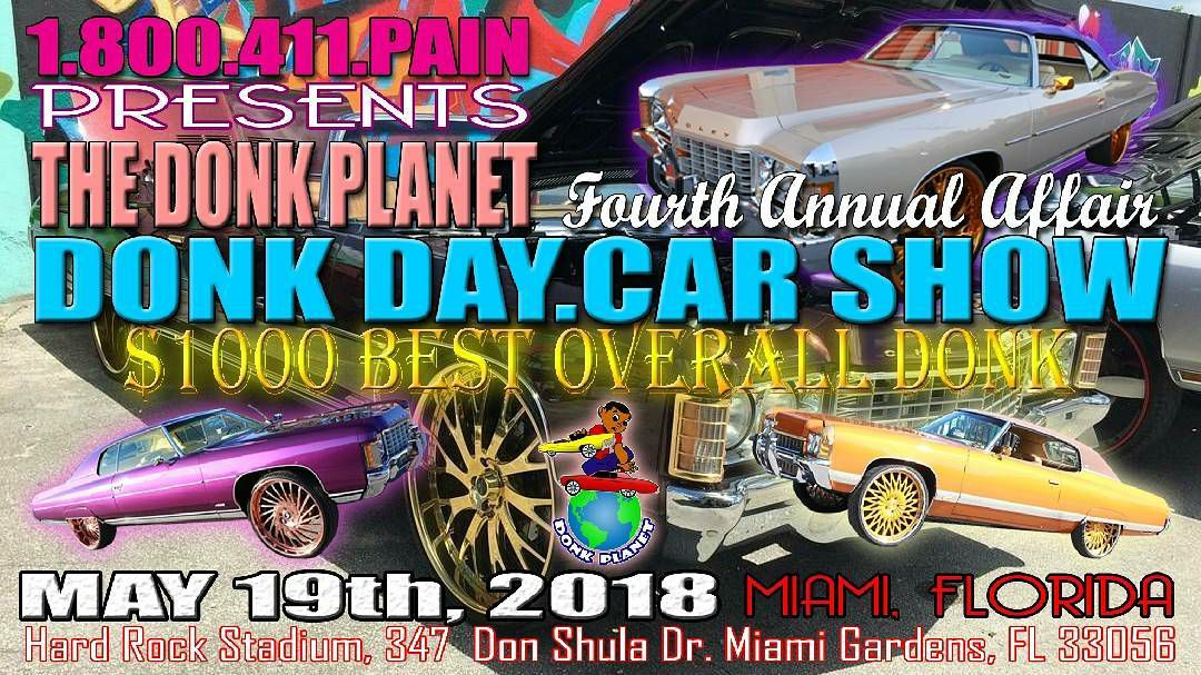 Car Shows In Florida >> Donk Day Car Show Miamicars Com