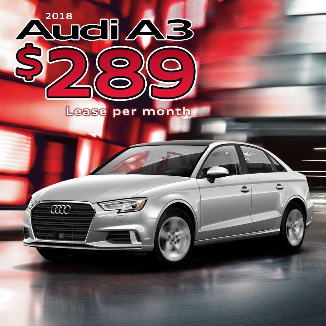2018 Audi A3 Lease Deal