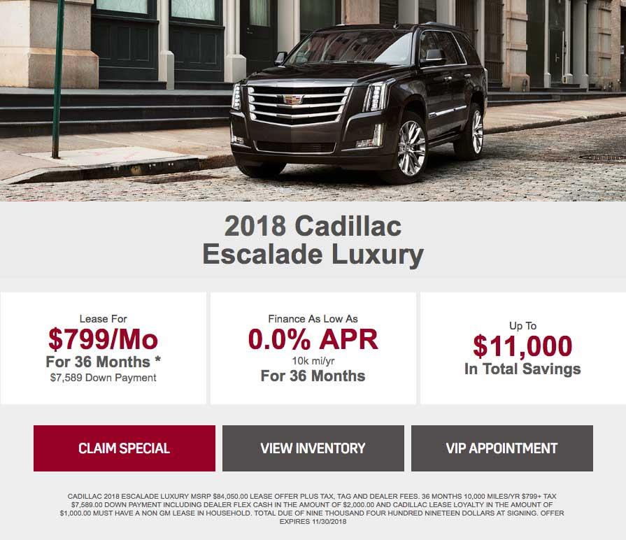 Cadillac Lease Deals At Braman Cadillac
